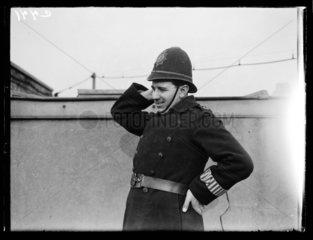 A policeman  1933.
