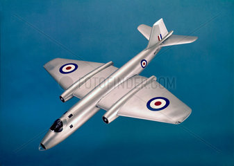 The English Electric Canberra jet bomber  1950.