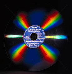 Philips LaserVision laser disc  1980s.