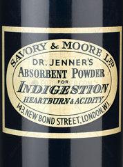 Dr Jenner's indigestion powder.