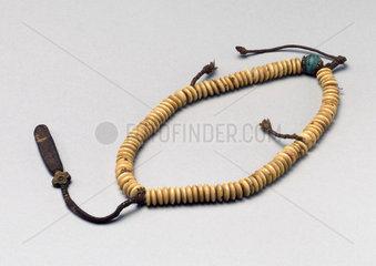 Buddhist rosary  Tibetan  19th century.