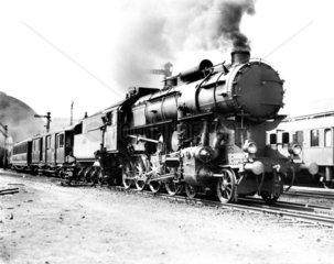 MAV steam locomotive  1929.