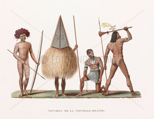 'Natives' of New Ireland (now Papua New Guinea)  1822-1825.