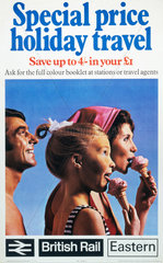 'Special Price Holiday Travel'  BR (ER) poster  1970.