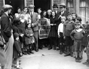 Herbert Morrison with his supporters  1931.
