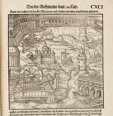 Harbour scene  1548.