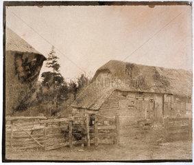Farm yard  1852.