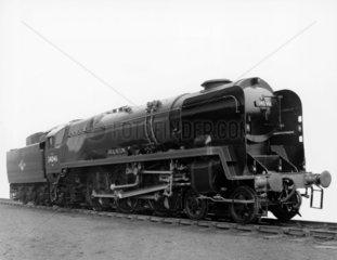 Steam locomotive 'Braunton'  1959. This Bri