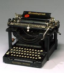 Remington typewriter 'No 10'  USA  c 1902-1935.