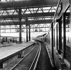 Awaiting departure at Waterloo station  21