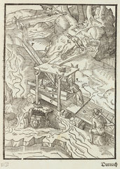 Gold washing  1580.