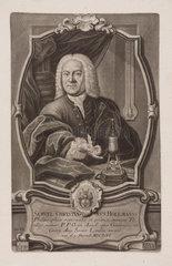 Samuel Christian Hollmann  professor of philosopy  c 1740s.