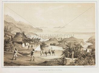 'Loo Rock and Pontinha Madeira'  1853.