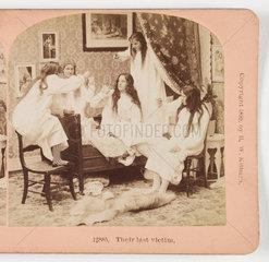 'Their last victim'  1899 .