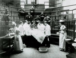 Early surgery  University College Hospital Medical School  London  1898.