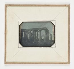'Athens The Temple of Jupiter Panhellius'  1847.