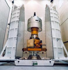 European Meteosat 2 and APPLE satellite  1981.