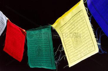 Buddhist prayer flags  2005.
