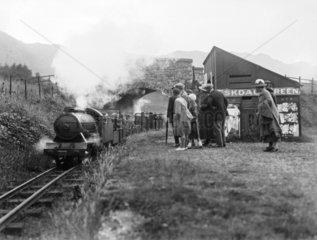 Ravenglass & Eskdale Railway  c 1927.