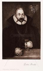 Tycho Brahe  Danish astronomer  late 16th century.