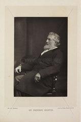 'Sir Frederick Leighton'  1890.