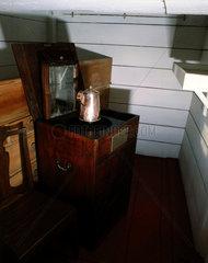 Surgeon's cabin  HMS Victory  19th century.