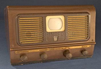 Pilot TV 37 television receiver ('suitcase' set)  c 1948.