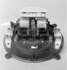 Siemens and Halske watt-hour meter.