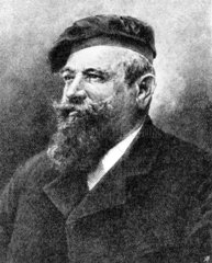 Carl Angerer  Austrian photochemist and printer  c 1900.