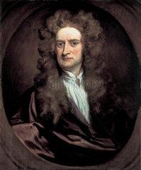 Sir Isaac Newton  English mathematician and physicist  1702.