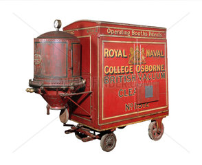 Booth's original Red Trolley British Vacuum Cleaner  1905.