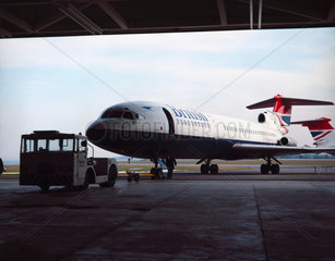 Hawker Siddeley Trident 3 aircraft  1971.