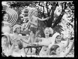 Children's garden party  1933.