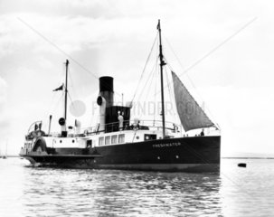 'Freshwater'  c 1927. Paddle steamer built