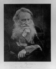 'Henry Taylor a portrait'  1866. Photograph