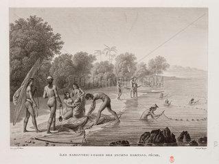 Fishing  Mariana Islands  1817-1820.