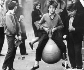 Space hopper  April 1967.