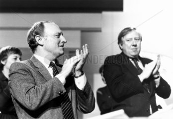 Neil Kinnock and Roy Hattersley  1980s.