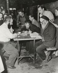 Jewish immigrants from Hamburg  1947.
