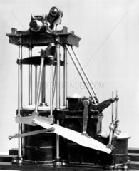 Model of J Seaward's direct acting paddle-engines.