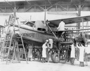 Railway Air services Ltd  c 1938. The De Ha