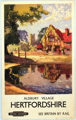'Hertfordshire - Aldbury Village'  1949. Br
