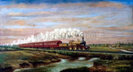 London Brighton & South Coast Railway Royal Train  1899.