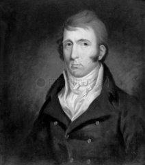 George Stephenson  English railway engineer  c 1810s.