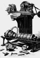 First universal milling machine.