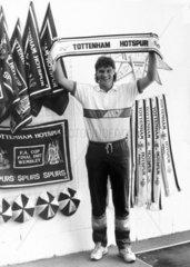 Glenn Hoddle  British footballer  May 1987.