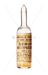 Ampoule of typhoid serum  1915.