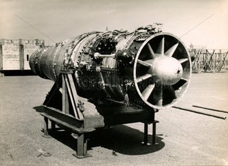 'Sapphire' engine just after testing  17 May 1948.