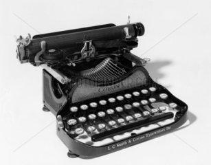 Corona folding portable typewriter  c 1922.