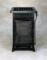 'Black Beauty' gas cooker  c 1878.